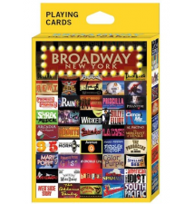 Broadway New York Playing Cards