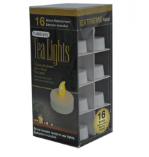16 Piece Flameless Tea Lights