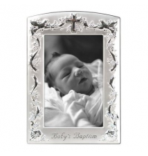 Baby*s Baptism Picture Frame