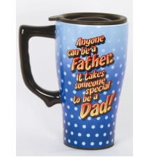 *Anyone Can Be A Father* Travel Mug