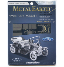 1908 Ford Model T Metal Earth 3D Laser Cut Model By Fascinations #019