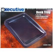 Executive Desk Tray -Carbon Fiber