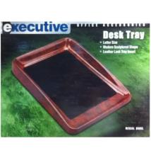 Executive Desk Tray - Regal Burl