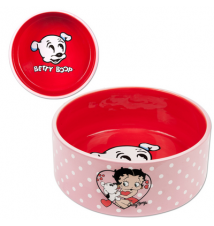 Betty Boop Pudgy Ceramic Dog Bowl