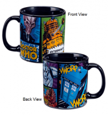 Doctor Who Comic Book 20 oz. Ceramic Mug