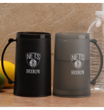 Brooklyn Nets 15 oz Freezer Mug 2 Pack: Home & Away H20 Mug Set