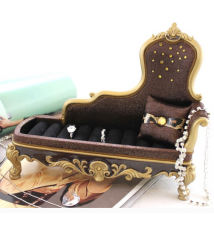 Brown Lounge Chair Ring Holder #20