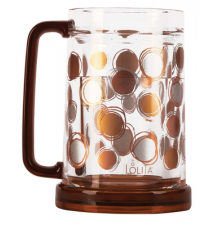 Acrylic Freezer Mug - Circles In Motion- Too