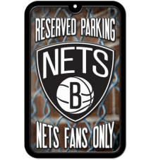 Brooklyn Nets Reserved Parking Sign