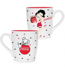 Betty Boop Coca-Cola Mug 12 Ounce