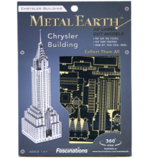 Chrysler Building Metal Earth 3D Laser Cut Model By Fascinations #008
