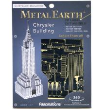 Chrysler Building Metal Earth 3D Laser Cut Model By Fascinations #008