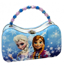 Disney Frozen Scoop Purse Carry All Tin