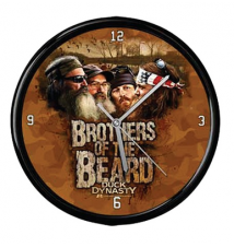 Duck Dynasty Brothers Of The Beard Wall Clock