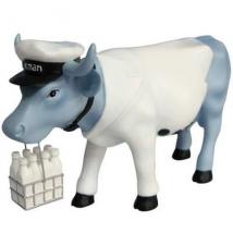 Cow Parade Vaca Milkman #108