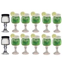 12 PACK  -  Redneck Margarita Glass 8oz