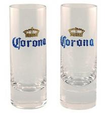 Corona Glass Shooters  - 2 Pack