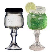 2 PACK  -  Redneck Margarita Glass 8oz