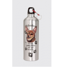 Chihuaha Water Bottle