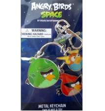 Angry Birds Space Metal Keychain (Red Bird- Lightning Bird- Monster Bi