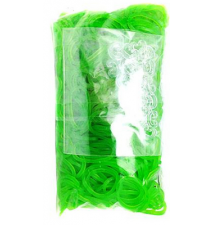 Genuine Choons Rainbow Looms  Lime Green Jelly #105 600 Pcs Refill Ban