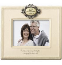 25th Anniversary Ceramic Picture Frame