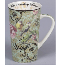 *Time Fliers* Latte Mug