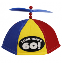 Big Mouth Toys Look Who*s 60! - Propeller Beanie