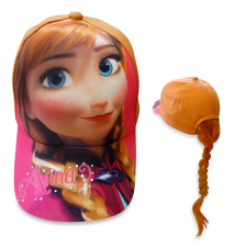 Disney Frozen Anna Ponytail Baseball Cap