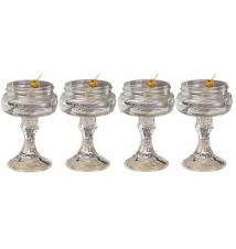 4 PACK  -  Redneck Martini Glass 4oz