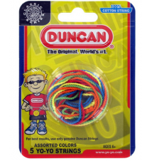 Duncan Multi-Colored String - 5 Pack