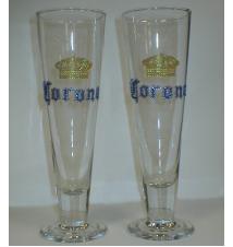 Corona Pilsner Glasses -  Set of 2