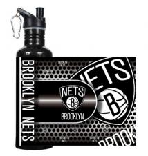 Brooklyn Nets Stainless Steel Water Bottle Sipper