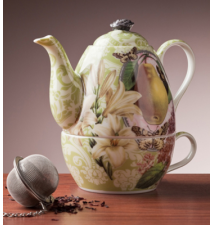 *Pear* - Tea For One - Teapot and Cup
