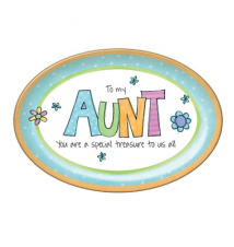 *Aunt* You Are Special Mini Plate 6x4 With Easel