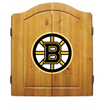 Boston Bruins Dart Board Cabinet