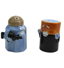 Big Mouth Toys Assault/Battery Salt and Pepper Shakers
