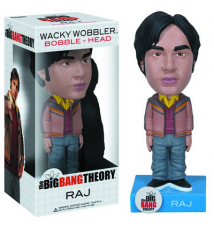 Big Bang Theory Raj Wacky Wobbler Bobble Head by Funko