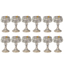 12 PACK  -  Redneck Martini Glass 4oz
