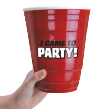 *I Came To Party* Giant Red SOLO Cup