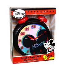 Disney*s Mickey Mouse Jumbo Twin Bell Alarm Clock