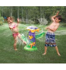 Aqua Leisure Spray Zone Spinning Sunflower Sprinkler
