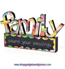 Colorful Devotions Family Sculpture