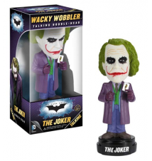 Batman Dark Knight The Joker Talking Bobble Head