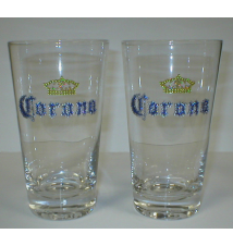 Corona Pint Glasses - 2 Pack