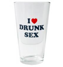 *I Love Drunk Sex* Pint Glass - 16oz