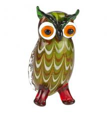 Badash Crystal Art J512 Glass Owl