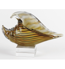 Badash Crystal Art J403 Conch Shell On Base