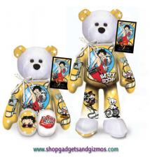 Betty Boop Starlet Betty Beanie Bear