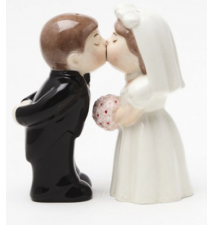 Bride And Groom Salt And Pepper Shakers #105